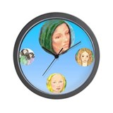 Elves Wall Clock