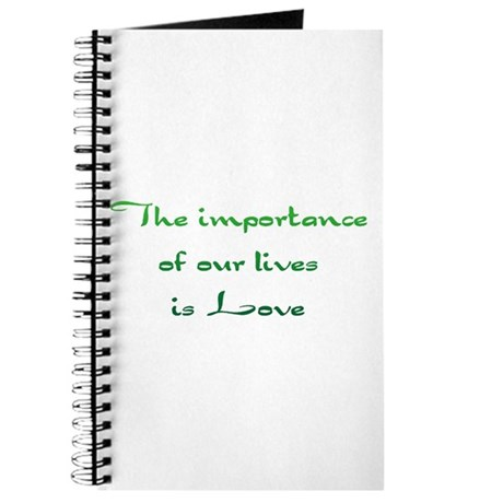 Importance is Love Journal