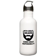Beard Responsibility Water Bottle