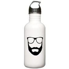 Cool Beard Dude Water Bottle