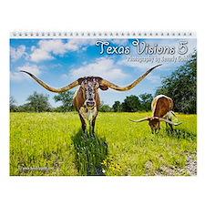 Texas Visions 5 Wall Calendar