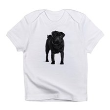 Black Pug Infant T-Shirt