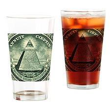 THC Militia Drinking Glass