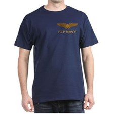 Naval Flight Officer NFO Wings T-Shirt