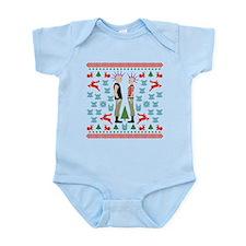 Vicious Christmas Sweater Tee Infant Bodysuit