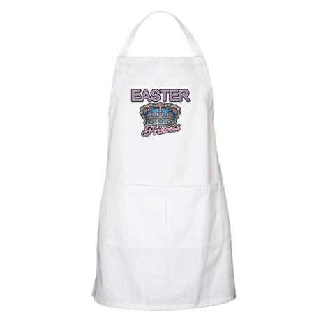 Easter Princess Crown BBQ Apron