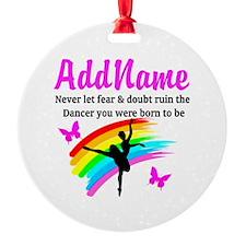 DAZZLING DANCER Ornament