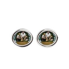 Personalizable Snowglobe Photo Frame Cufflinks