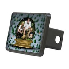 Personalizable Snowglobe Photo Frame Hitch Cover