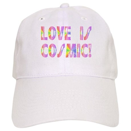Love is Cosmic Baseball Cap