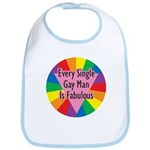 EVERY SINGLE GAY MAN FABULOUS Bib