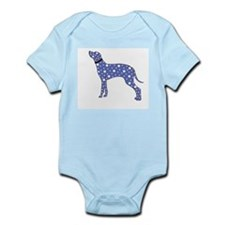 Blue Dalmatian Body Suit