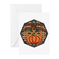 Secret Pumpkin Greeting Cards (6)