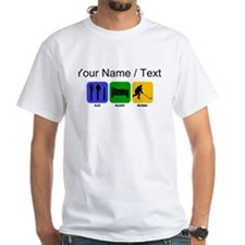 Custom Eat Sleep Score T-Shirt