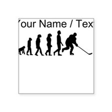 Custom Hockey Evolution Sticker