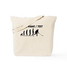Custom Hockey Evolution Tote Bag