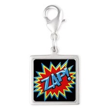 Comic Book Burst Zap! 3D Charms