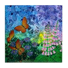 Monarch Haven 5.25 Inch Tile Coaster