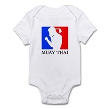 Cute Muay thai Infant Bodysuit