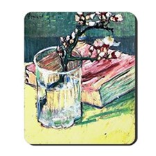 Van Gogh - Blossoming Almond Branch in a Mousepad