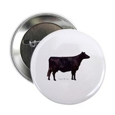 "Angus Beef Cow 2.25"" Button (100 pack)"