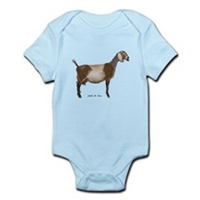 Nubian Dairy Goat Infant Bodysuit