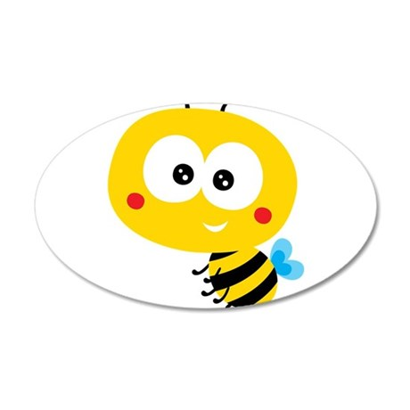 Child Bee Wall Decal