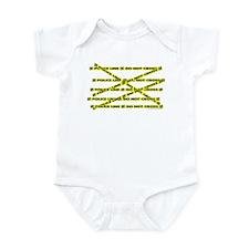 Police Lines Infant Bodysuit