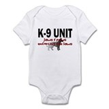 K9 UNIT: Jaws & Paws Infant Bodysuit