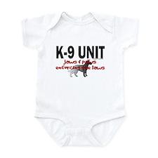 K9 UNIT: Jaws & Paws Infant Bodysuit