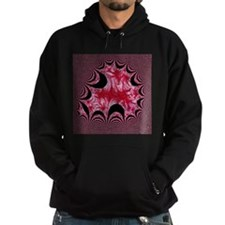 digital art red Hoodie