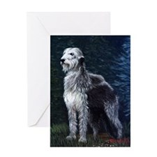 Irish Wolfhound Dog Greeting Cards