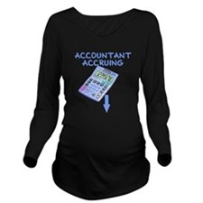 future accountant Long Sleeve Maternity T-Shirt