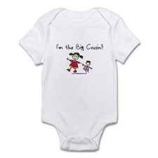 Girl-I'm the big cousin Infant Bodysuit