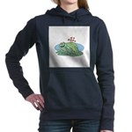 frogs in love copy.jpg Hooded Sweatshirt