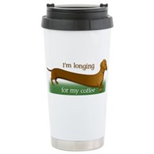 Cute Sausage dog Travel Mug