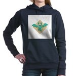 cute funny gargoyle bat Hooded Sweatshirt