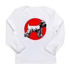 Schnauzer Long Sleeve Infant T-Shirt