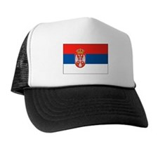 Cute Serbian flag Trucker Hat