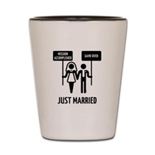 Just Married – Mission Accomplished – G Shot Glass