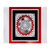 Cherokee nation Fleece Blankets