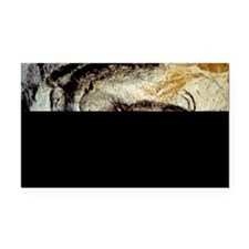 Prehistoric Cave Painting of  Rectangle Car Magnet