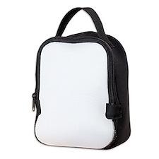 Solid White Neoprene Lunch Bag