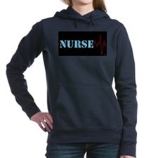 Nurse Heart Beat Hooded Sweatshirt