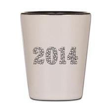 2014 In Skulls Shot Glass