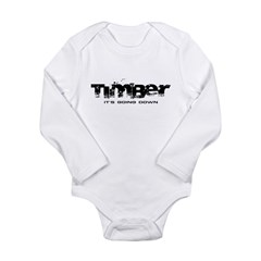Timber - It's Going Down Long Sleeve Infant Bodysuit