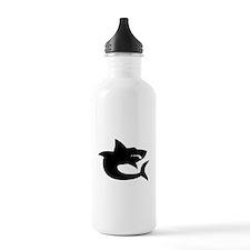 Shark Silhouette Water Bottle