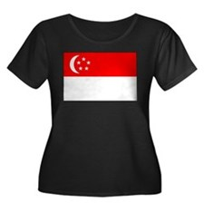 Cute Travel singapore T