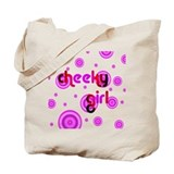 Cute Sexy flower girl Tote Bag