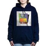 old school floppy disk copy.jpg Hooded Sweatshirt